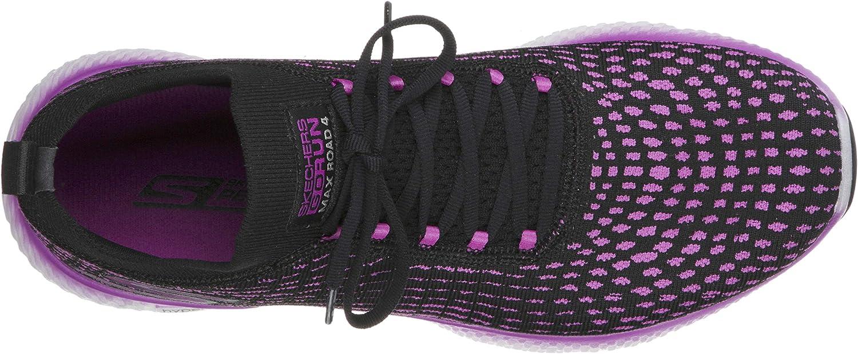 Skechers Women's Go Run MaxRoad 4 Hyper Black/Purple