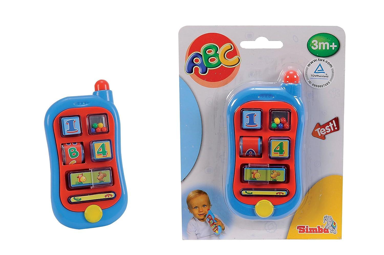 ABC Erstes Telefon 20 x 15 cm Simba 104015349