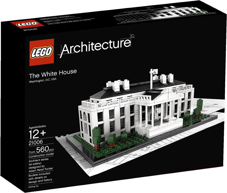 LEGO 21006 Architecture - La Casa Blanca: Amazon.es: Juguetes y juegos