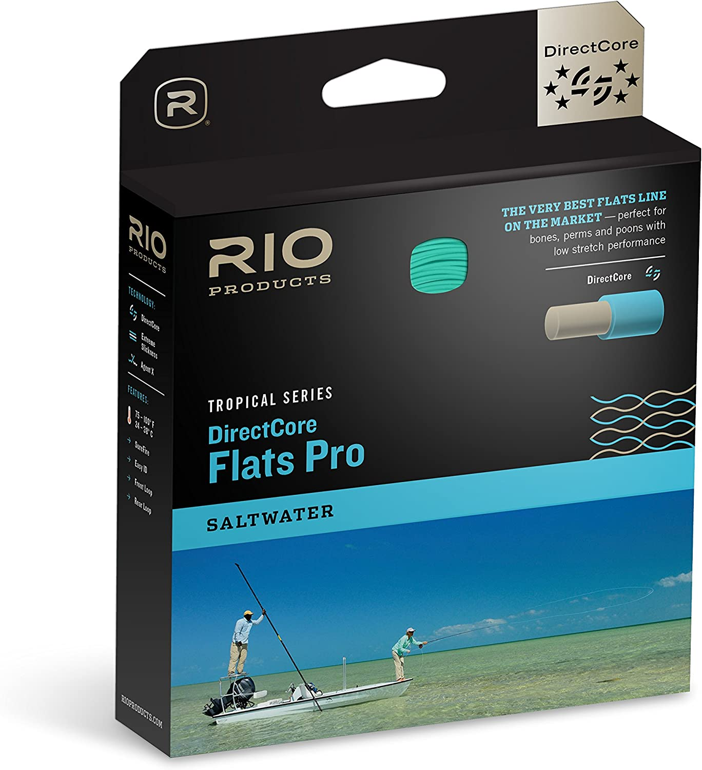 WF12i New Details about  /RIO Elite Flats Pro Intermediate Fly Line