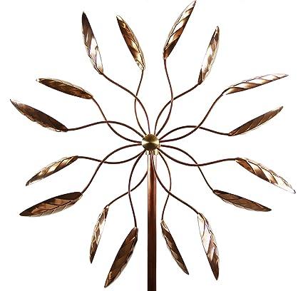 Amazon.com : Stanwood Wind Sculpture Kinetic Copper Wind Sculpture ...