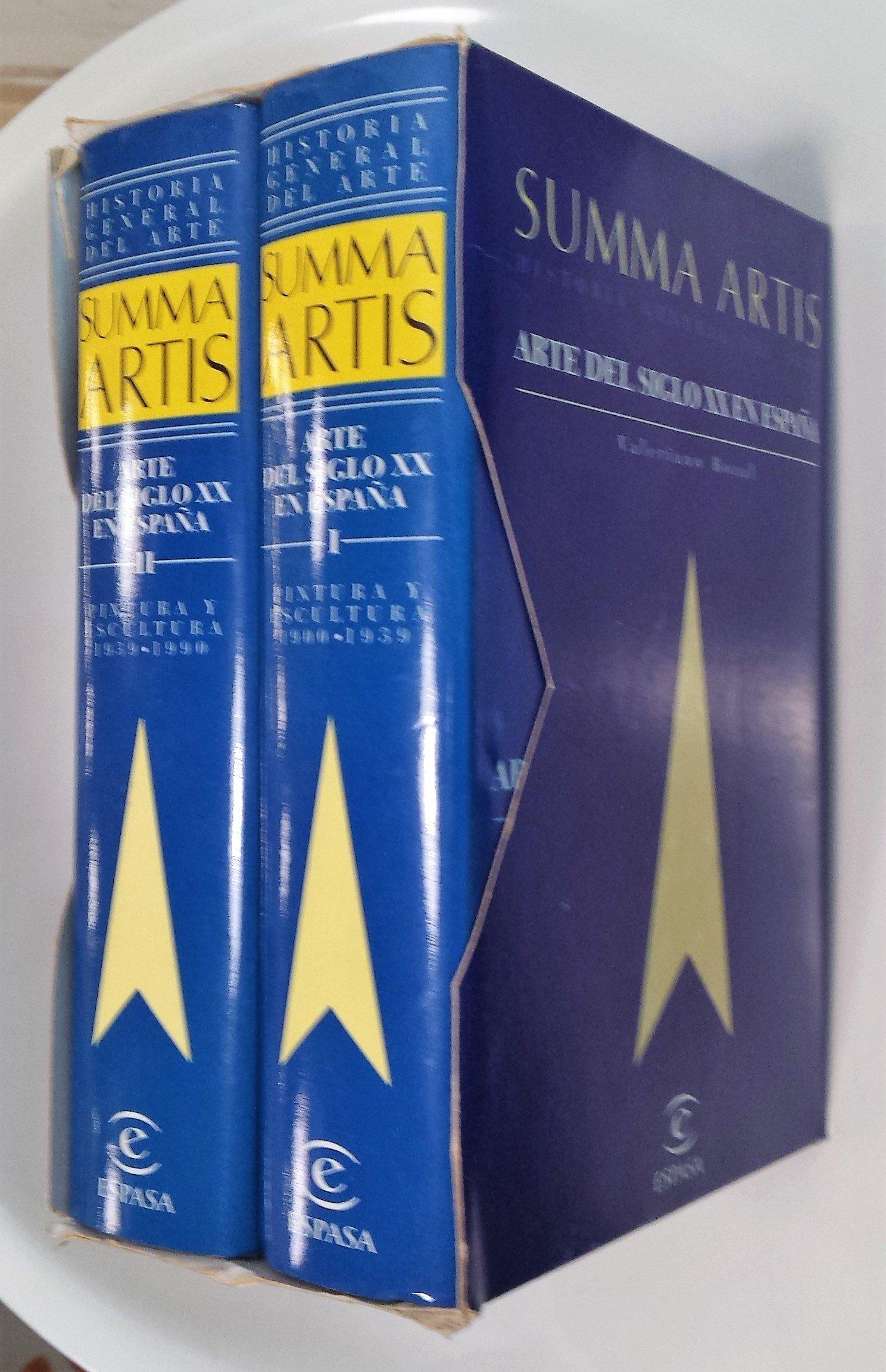 Arte del siglo XX en España, 2 vol.pintura y escultura 1900-1990: Amazon.es: Bozal, Valeriano: Libros