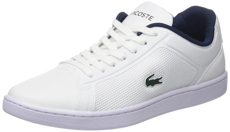 Lacoste Endliner 118 1 SPW, Zapatillas para Mujer 37 EU|Blanco (Wht/Nvy)