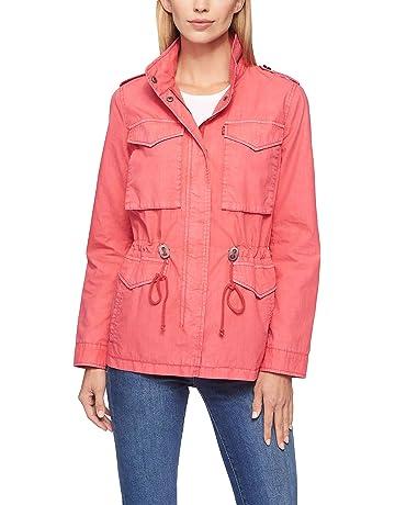 b8bf4d1070c2 Levi's Women's Parachute Cotton Military Jacket