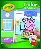 Creativity Crayola Peppa Pig Colour and Sticker Book, (04419)