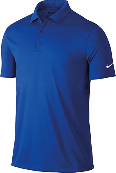 Nike Mens Victory Short Sleeve Solid Polo Shirt
