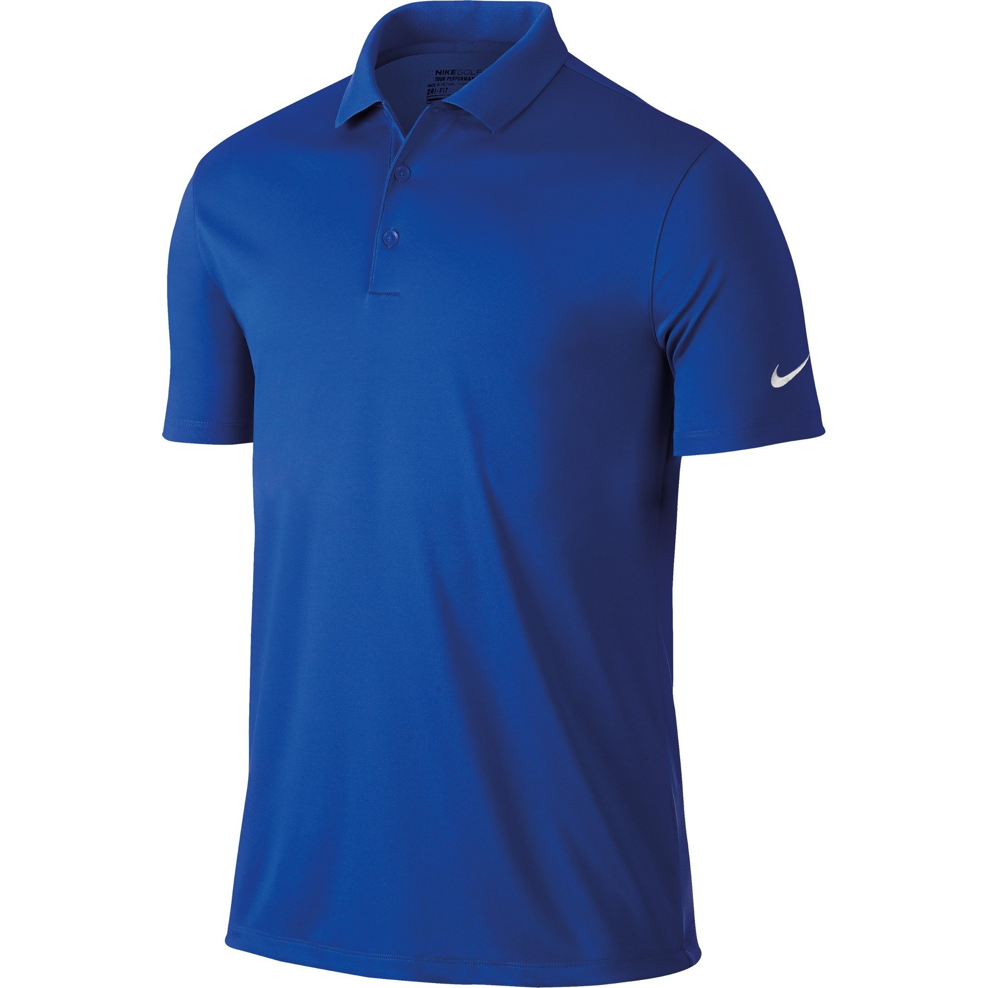 NIKE Men's Dry Victory Polo, Game Royal/White, Medium