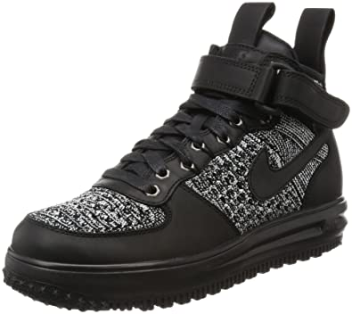 huge selection of b9719 8de00 Amazon.com   Nike Women s WMNS LF1 Flyknit Workboot, Black Black-White-Cool  Grey, 5.5 M US   Hiking Boots