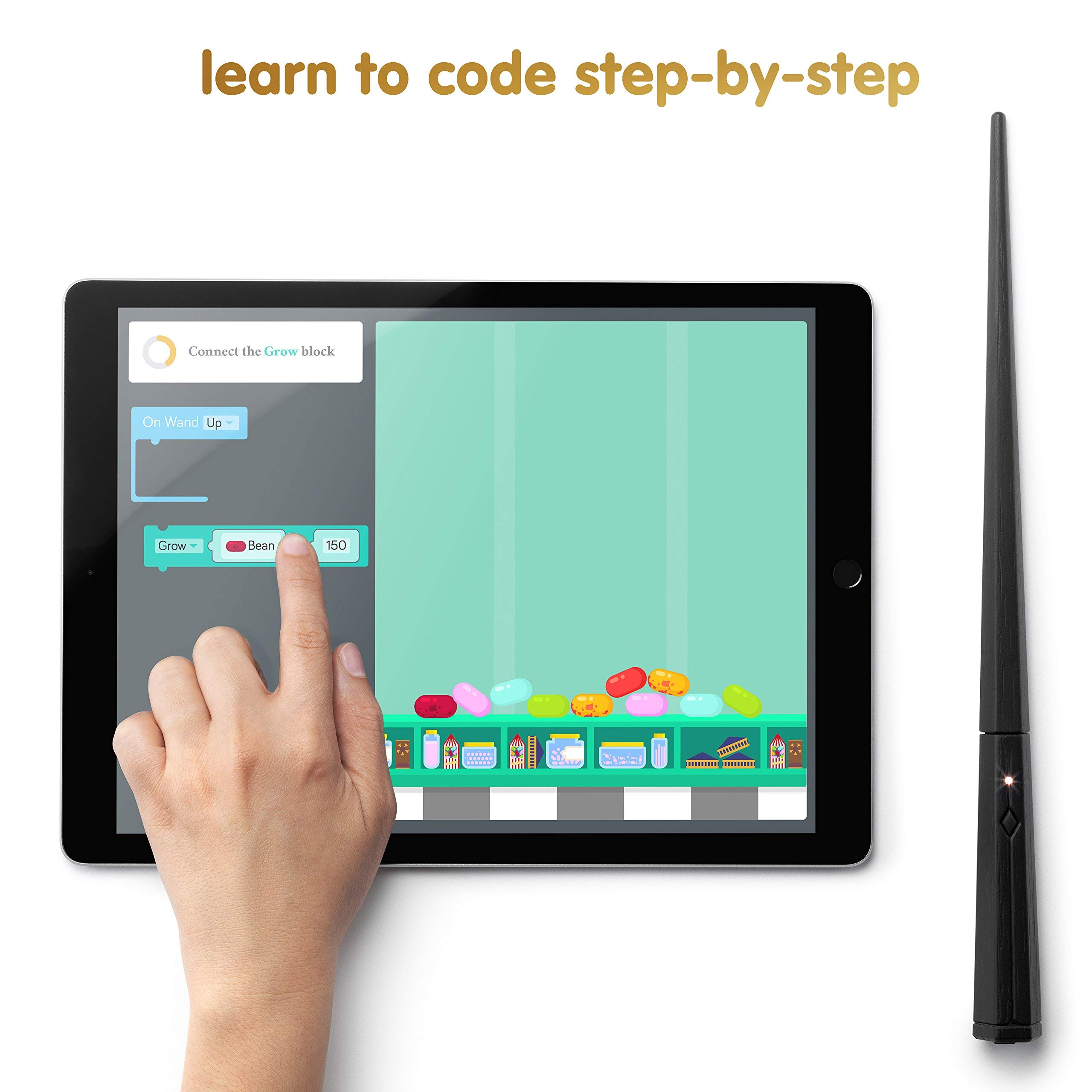 Kano Harry Potter Coding Kit - Build a Wand. Learn To Code. Make Magic. (Renewed) by Kano (Image #4)
