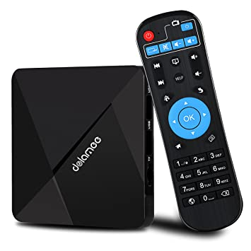 Android TV Box,DOLAMEE D5 Quad-core 2GB RAM 16GB ROM Smart 4K TV Box with  BT 4 0 HDMI WIFI Media Player