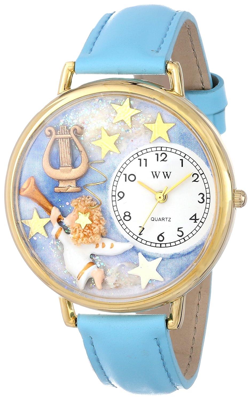 Whimsical Watches G-0710004 - Reloj analógico de Cuarzo Unisex, Correa de Cuero