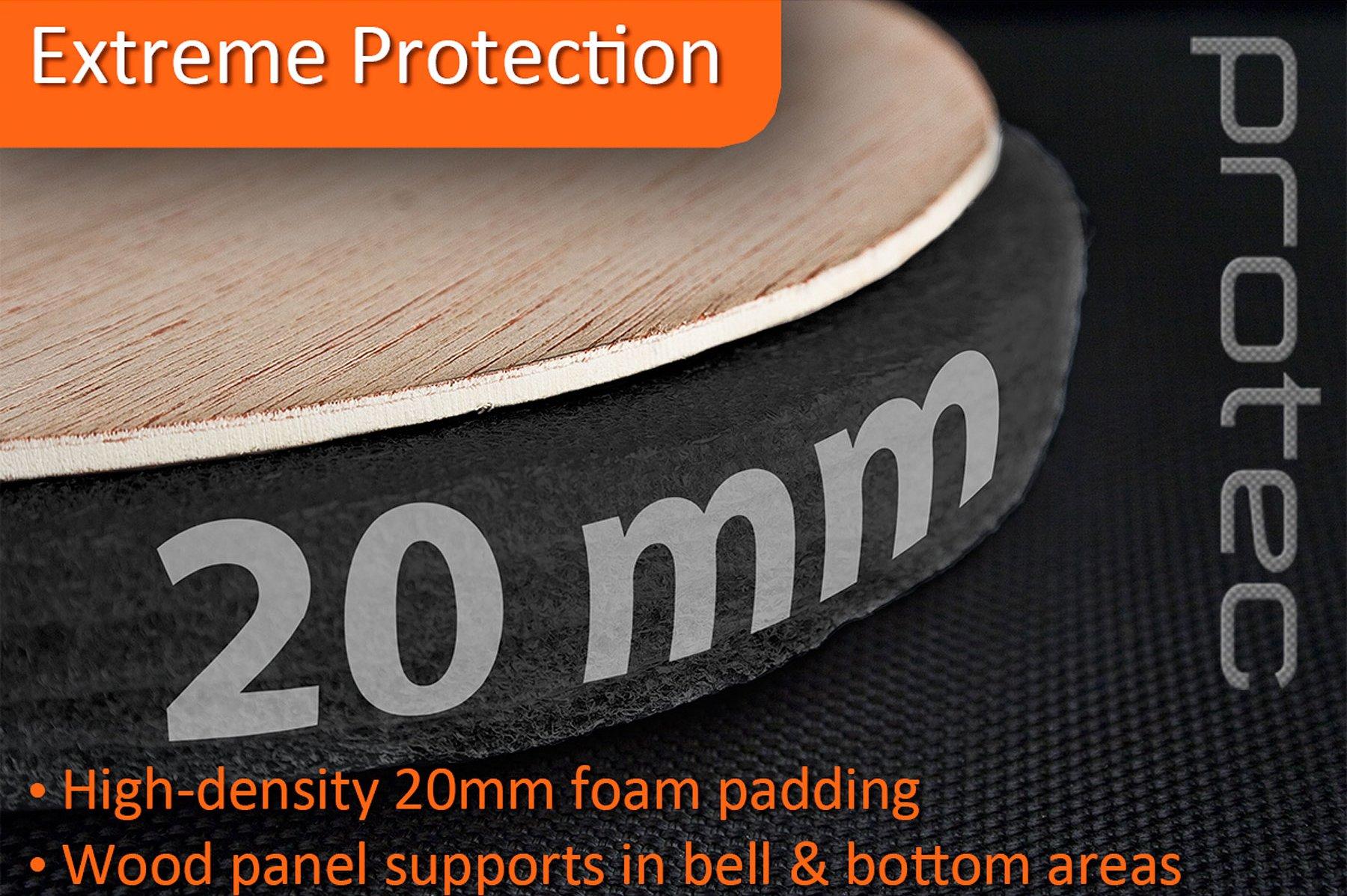 Protec PL239 Platinum Series Tenor Trombone Gig Bag by Pro Tec (Image #3)