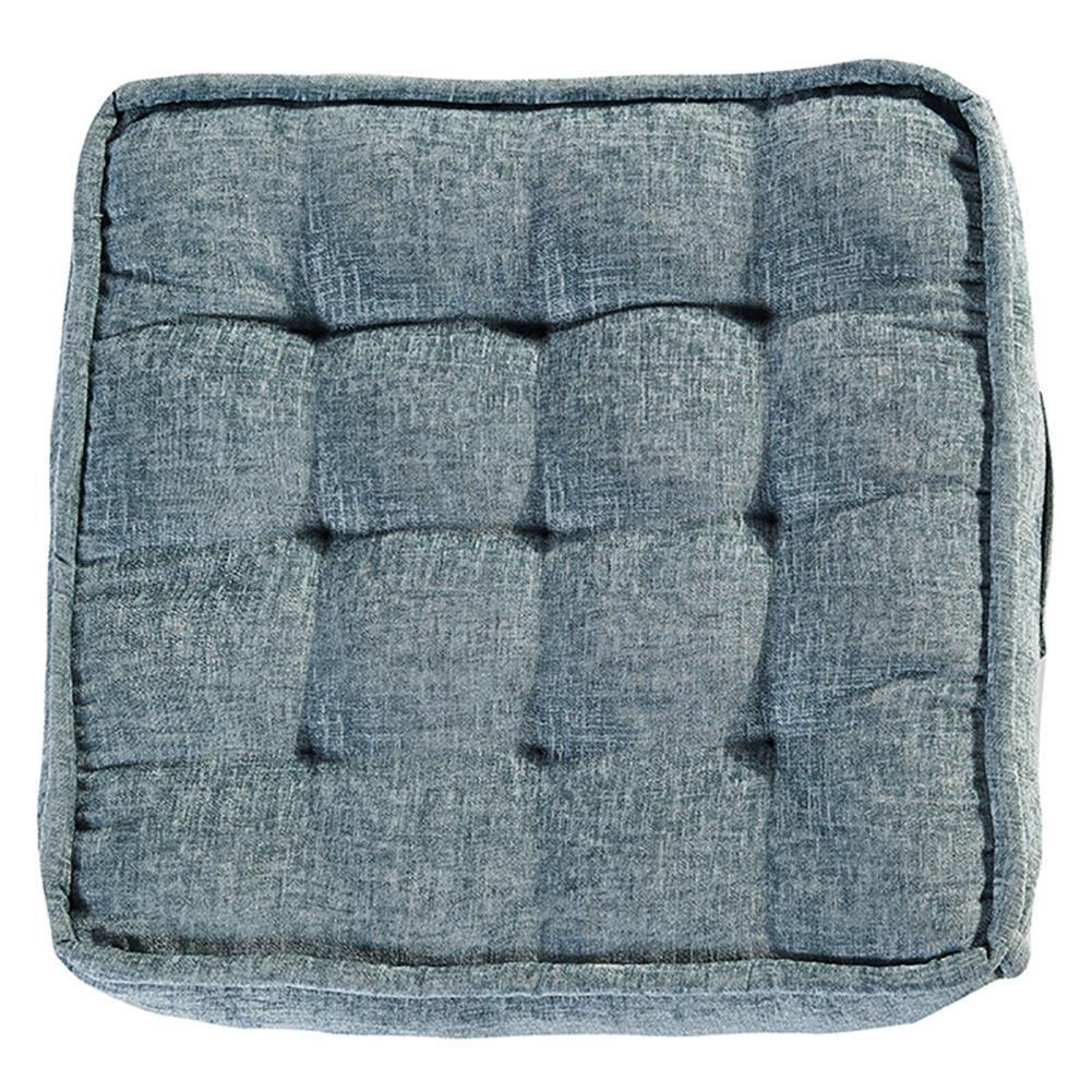 KSUNGB Square Floor cushion Bedroom living room Thickening Plus Big Family use Sit Cushion, blue, 7070cm