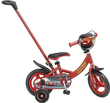 TOIMSA – Bicicleta para niños (con caña de desviación bajo Licencia Cars 3 10