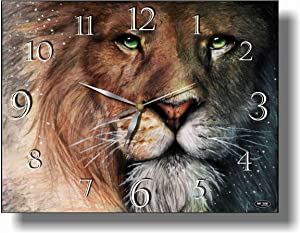 Art time production The Chronicles of Narnia 15'' x 11'' Handmade Unique Wall Clock - Get Unique décor for Home or Office – Best Gift Ideas for Kids, Friends, Parents