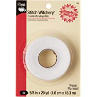 Deals on Stitch Witchery Fusible Bonding Web White Reg WGHT 20YD