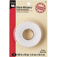 Deals on Stitch Witchery Fusible Bonding Web White Reg WGHT 20YD