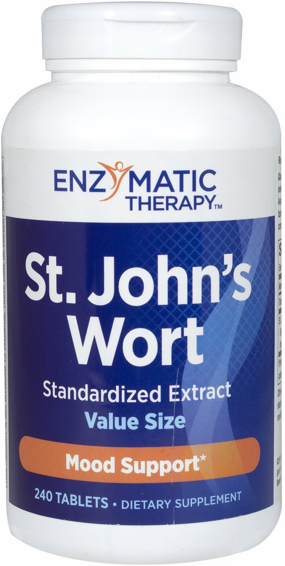 Enzymatic Therapy St. John's Wort Extract 450 mg Extra Strength-240 Tablets