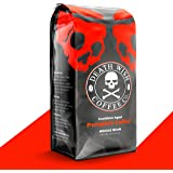 DEATH WISH COFFEE Organic Pumpkin Spice Dark Roast Coffee Whole Bean [12 oz.] The World's Strongest, Fair Trade, Arabica…