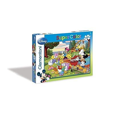 Clementoni 28213.5 Mickey: The Barbecue - Puzzle (150 piezas): Juguetes y juegos