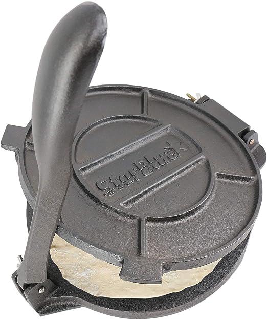 Amazon.com: StarBlue Prensa de tortilla de hierro fundido de ...