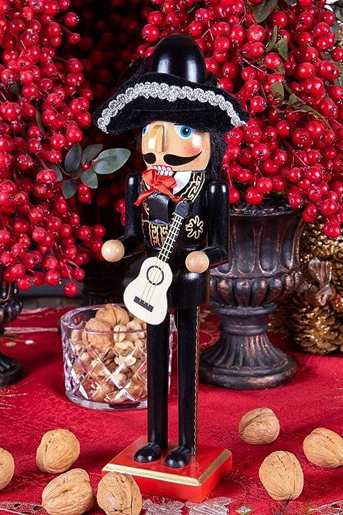 Clever Creations - Cascanueces de Navidad - Figura ...