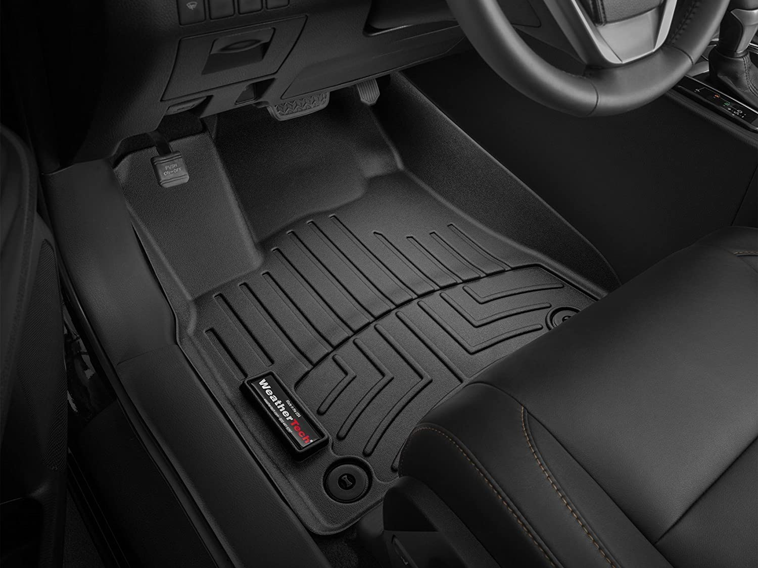 Amazon.com: 2017 Ford Fusion Weathertech Custom Fit Front and Rear  Floorliners - Black: Automotive