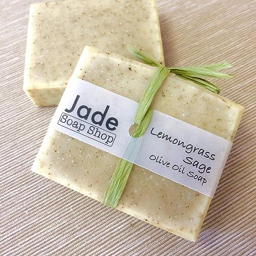 Amazon com: Natural Handmade Soap - Lemongrass Sage Sweet