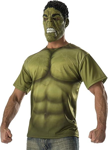 Kit disfraz de Hulk para hombre: Amazon.es: Juguetes y juegos