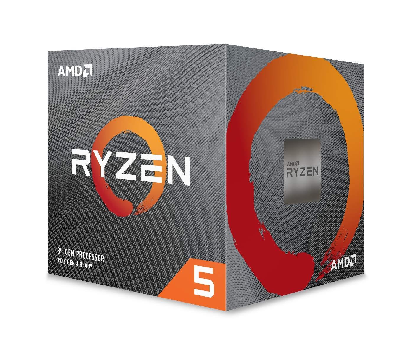12-thread processor with Wraith Spire Cooler AMD Ryzen 5 3600X 6-core