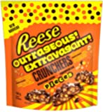 Reese's Reese Outrageous Crunchers Stuffed with Pieces Candy, 160g, 5.6457 Ounces