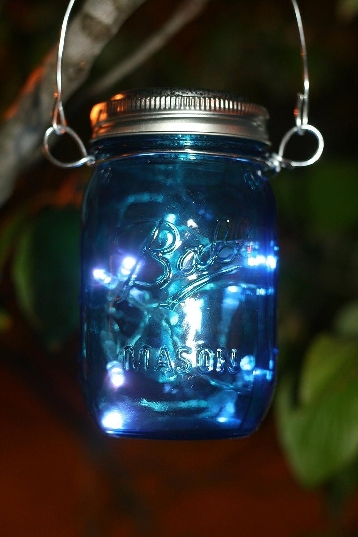 Amazon.com: Fairy Mason Jar Solar Powered Lantern, Mason Jar Solar ...