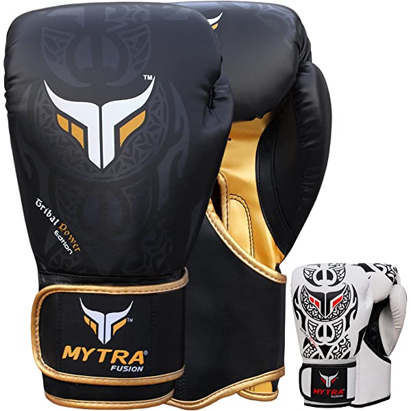 Mytra Fusion HEXA-TECH Boxing Gloves for Punching Sparring 10oz 12oz 14oz 16oz