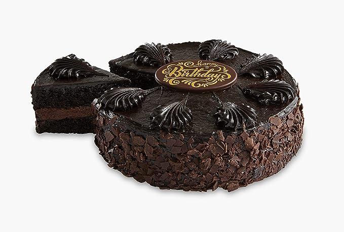 Pleasant Amazon Com Bake Me A Wish Chocolate Mousse Torte Cake Personalised Birthday Cards Veneteletsinfo