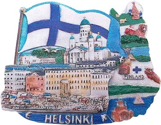 Helsinki Finland fridge magnet travel souvenir Fridge Magnet