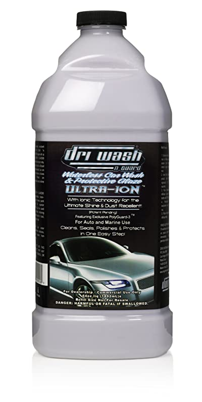 64oz Dri Wash 'n Guard ULTRA-ION Waterless Car Wash