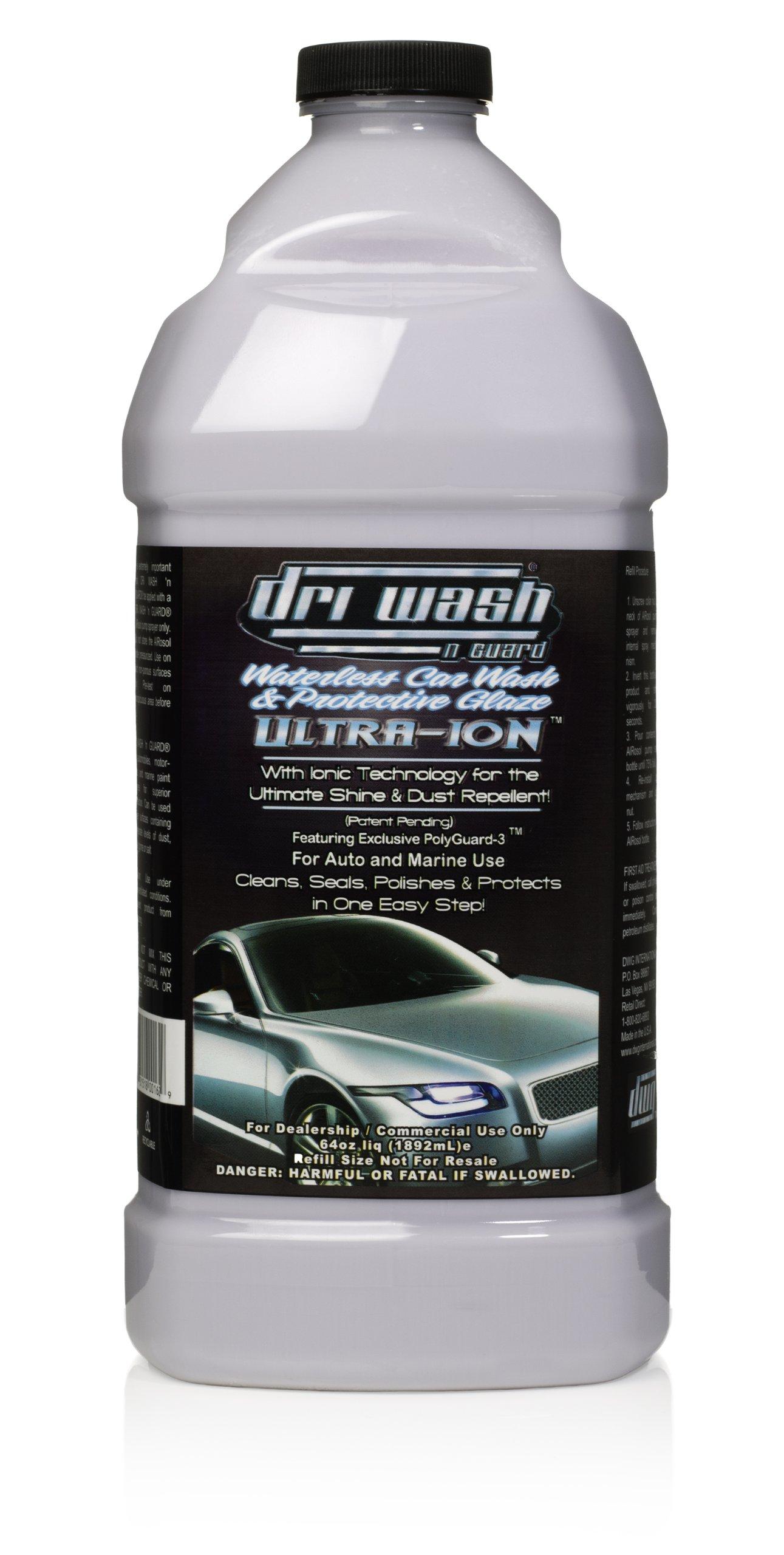 64oz Dri Wash 'n Guard ULTRA-ION Waterless Car Wash