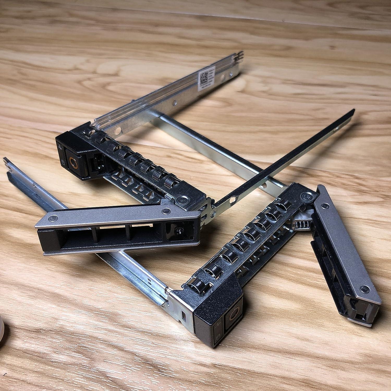 "2.5"" DXD9H SSD SAS SATA NVMe Hard Drive Caddy for 14th Gen R440 R640 R740 R740xd R940 R6415 R7415 R7425 Dell PowerEdge Servers Hot Swap Bracket"