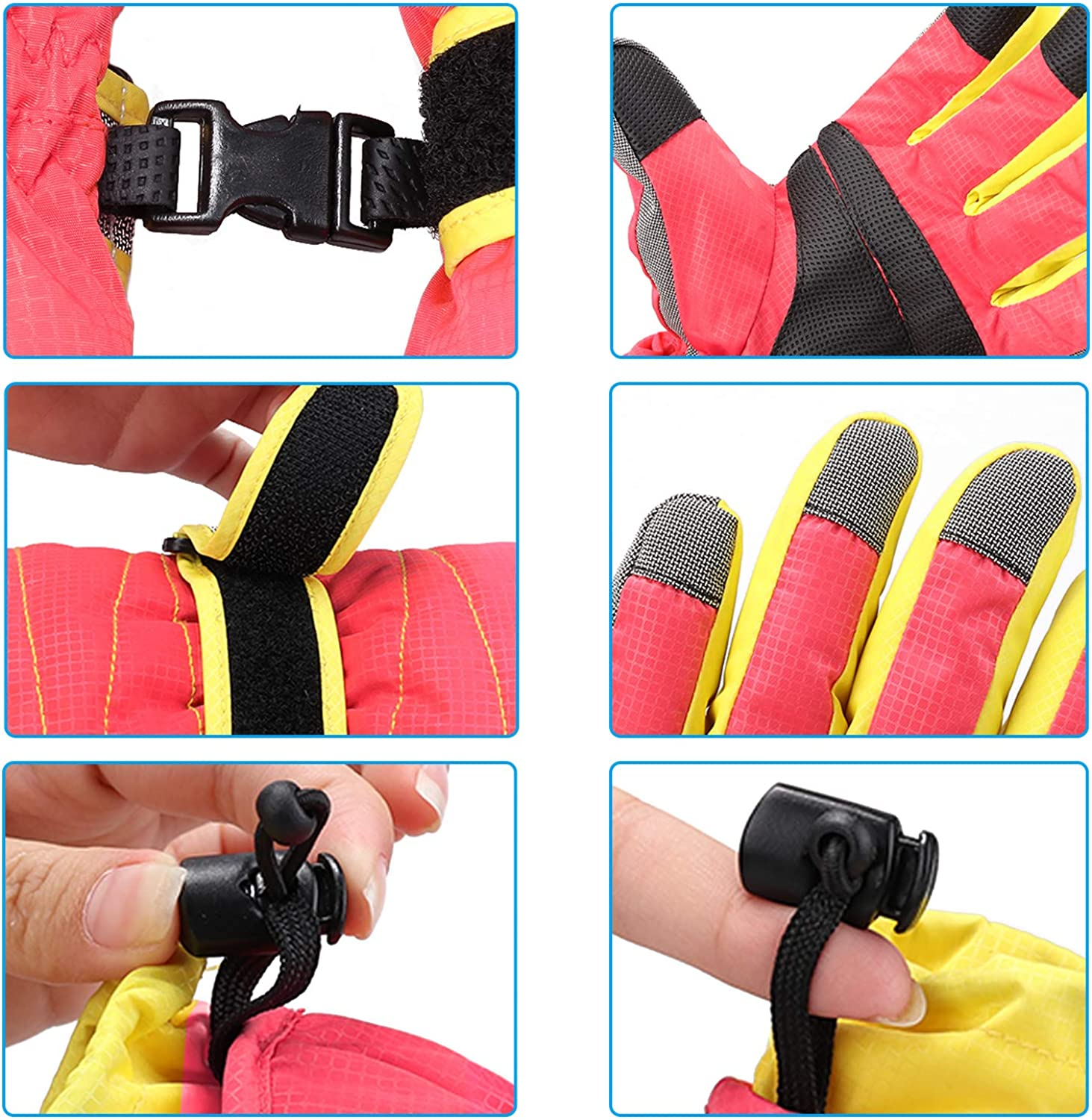 MAGARROW Winter Gloves Warm Windproof Outdoor Sports Glove For Teenagers and Men Women