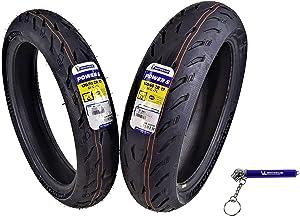 Michelin Pilot Power 5 Radial Sport Bike Motorcycle Tire 120/70-17 160/60-17 (120/70ZR17 Front 160/60ZR17 Rear)