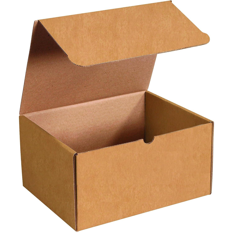 Cajas rápido bfml1296 K literatura sobres de cartón corrugado, 12 1/8 x 9 1/4 x 6 1/2 pulgadas, 0,4 mm, parte superior, de una sola pieza die-cut cajas de transporte, tamaño grande