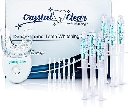 Amazon Com Teeth Whitening Kit Made In Usa Crystal Clear Teeth