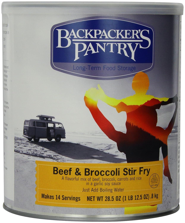 バックパッカーズパントリー - フライ牛肉とブロッコリー炒め、38.2オンス   B005CP0FBW