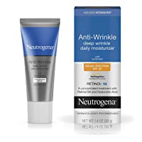 Neutrogena Ageless Intensives Anti-Wrinkle Deep Wrinkle Daily Facial Moisturizer with SPF 20, Retinol and Hyaluronic Acid to Hydrate and Fight Signs of Aging, 1.4 oz