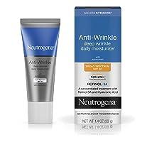 Neutrogena Ageless Intensives Anti-Wrinkle Retinol Cream, Daily Wrinkle Moisturizer...