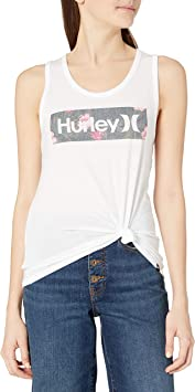 Hurley W Lanai Perf Scoop Tank - Camiseta De Tirantes Mujer: Amazon.es: Deportes y aire libre