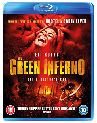 Amazon Com The Green Inferno Blu Ray 2015 Movies Tv