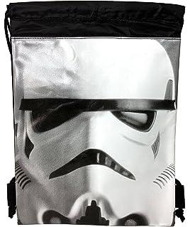 5774806c5c43 Disney Star Wars Authentic Drawstring Backpack Sling Sport Gym Bag (Storm  Trooper)
