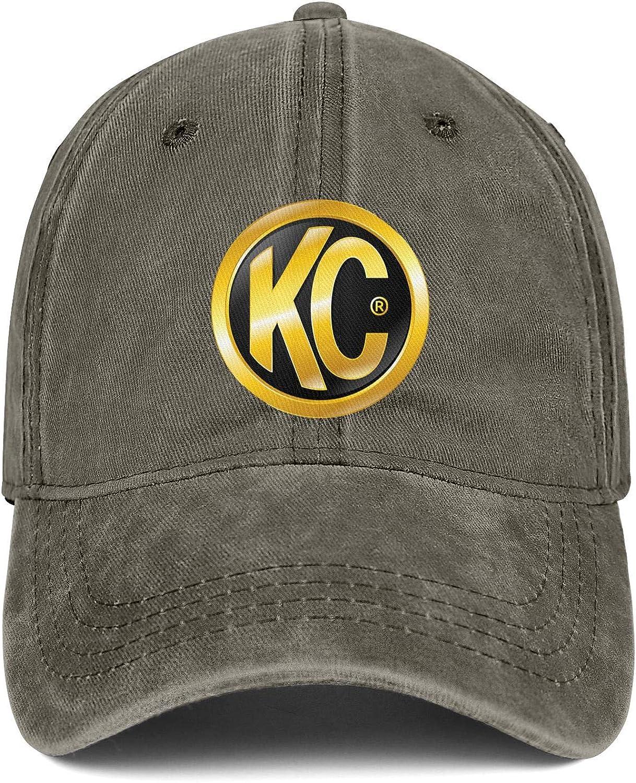 Womens Fitted Snapback Hat KC HiLiTES Logo Mens Visor Mesh Caps