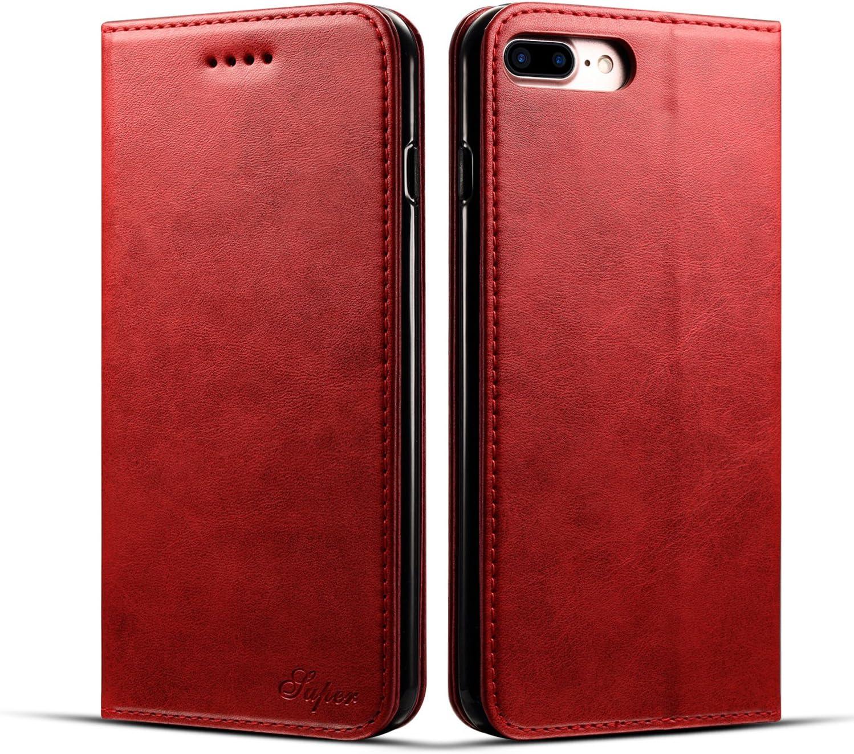 iPhone 7 Plus&8 Plus Wallet case,Flip Folio Case for iPhone 7 Plus&8 Plus(4)